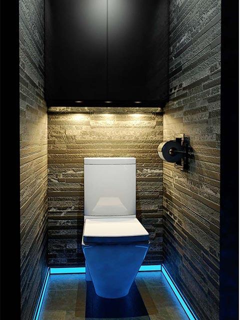 Дизайн маленького туалета в Гомеле