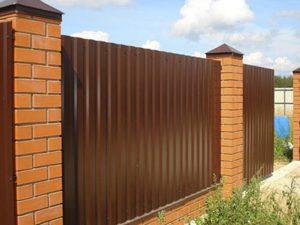 Забор из металлопрофиля в рассрочку в Гродно