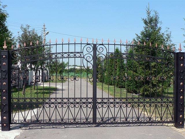 Ворота кованые в Гомеле